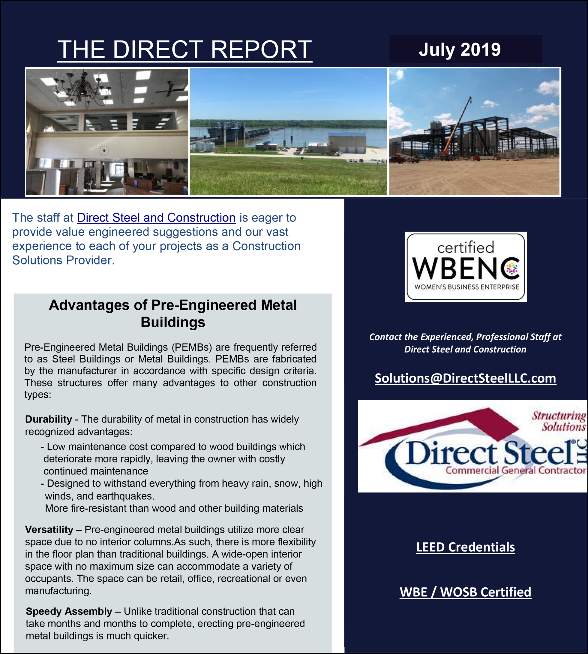 Direct Report July 2019 Page 1