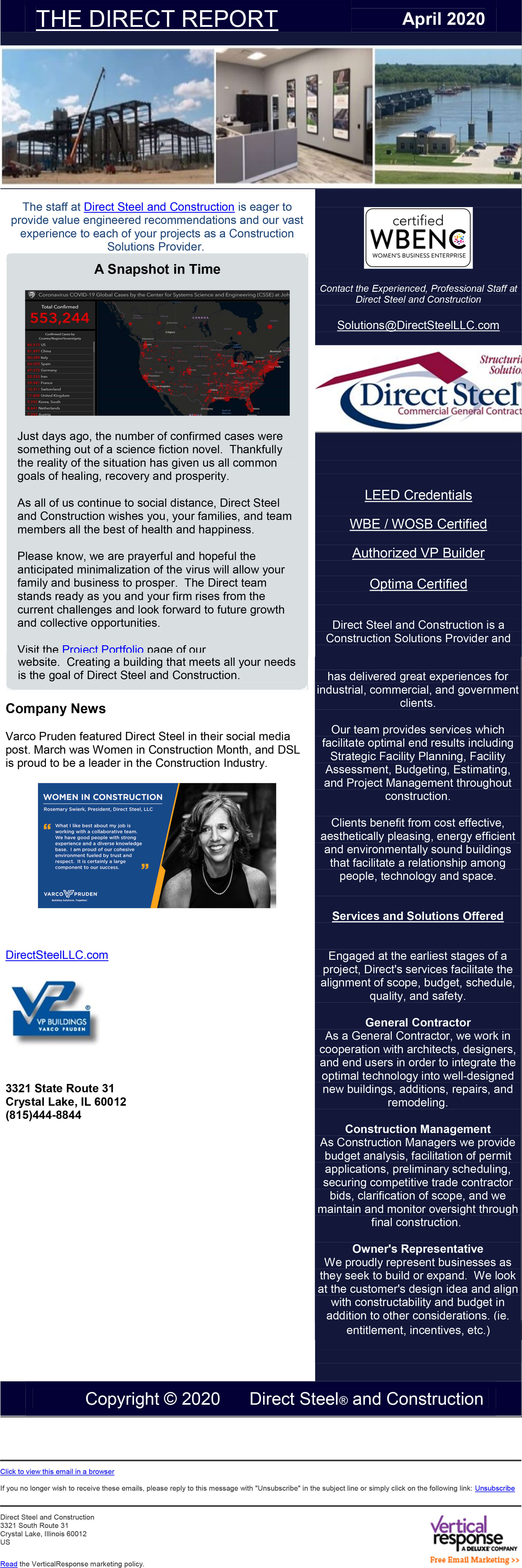 April Quarterly Newsletter