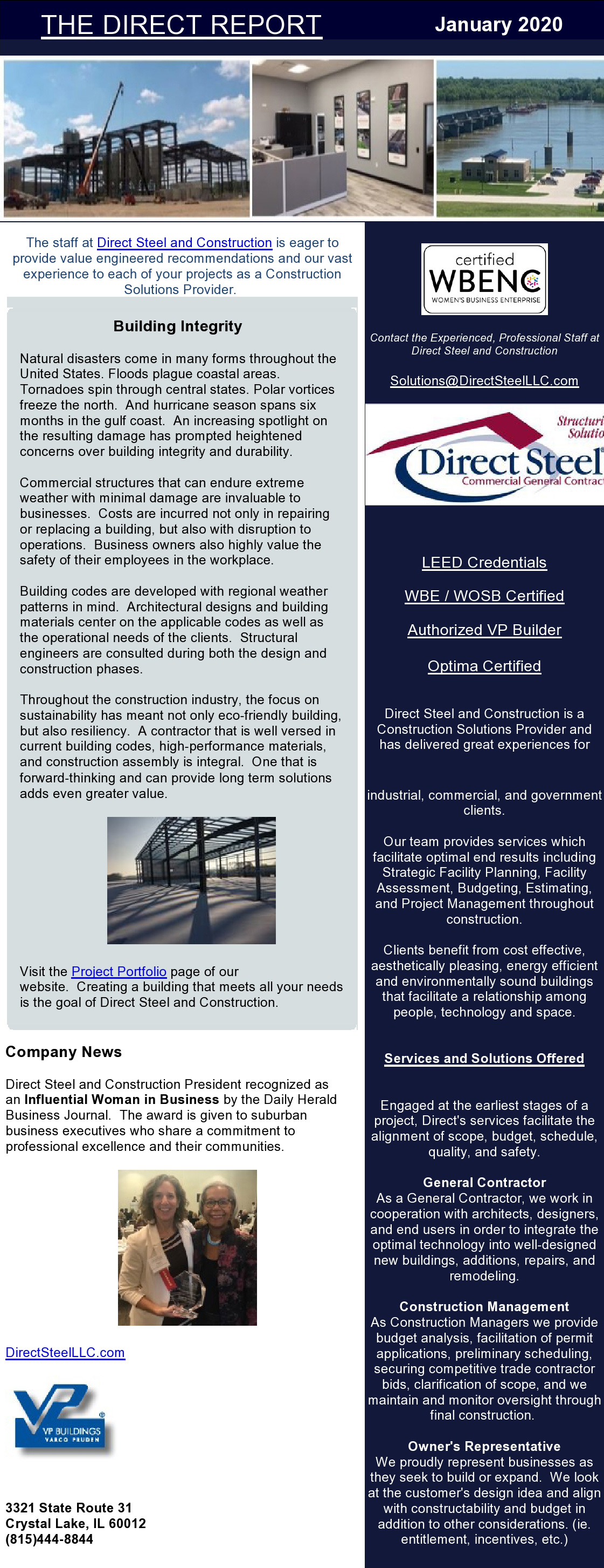 January Quarterly Newsletter